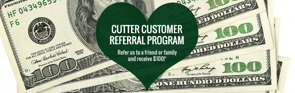 Cutter Customer Referral Program