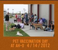 2012 April 14 Pet Vaccination Day