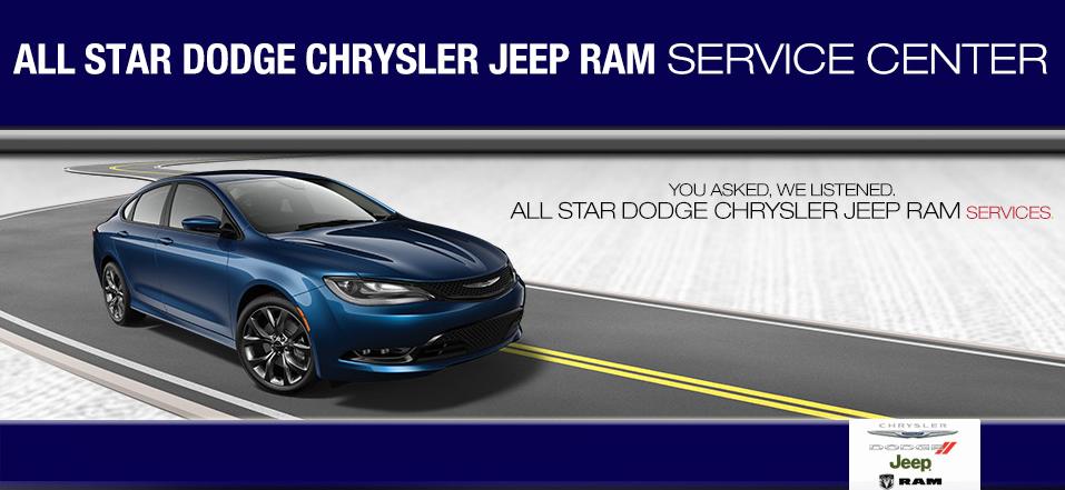 All Star Dodge Denham Springs >> Auto Service Baton Rouge La Jeep Service Denham Springs La