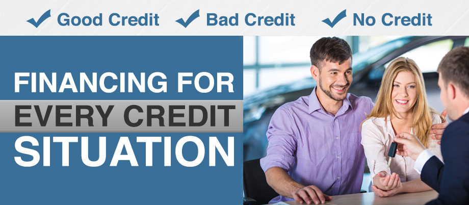 Financing For Every Credit Situation