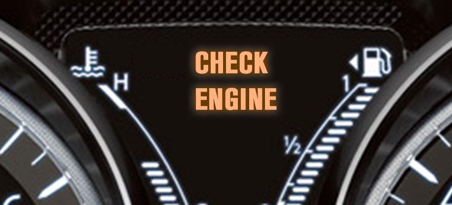 ENGINE LIGHT ON?