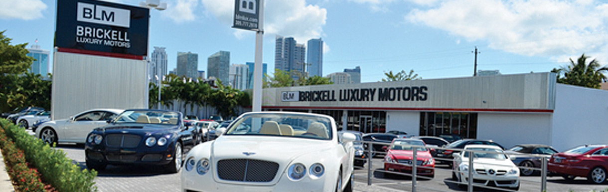 about us brickell luxury motors