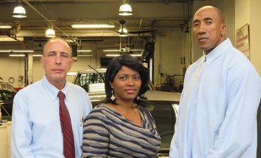 Plaza Collision Body Shop Employees