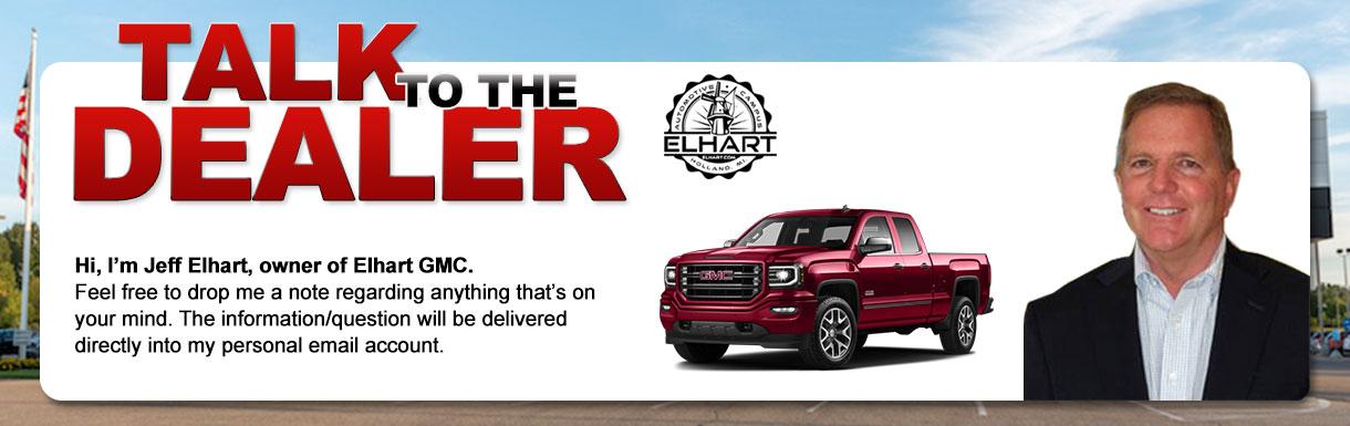 Talk to the Dealer at Elhart GMC