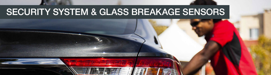 Toyota Security System and Glass Break Sensors