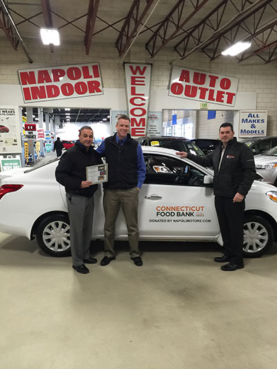 community involvement in milford ct napoli nissan