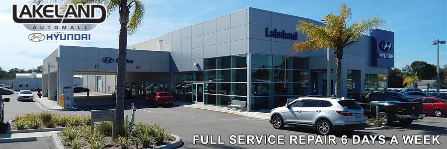 Lakeland Hyundai Service Center - 1500 W. Memorial Blvd., Lakeland FL 33815