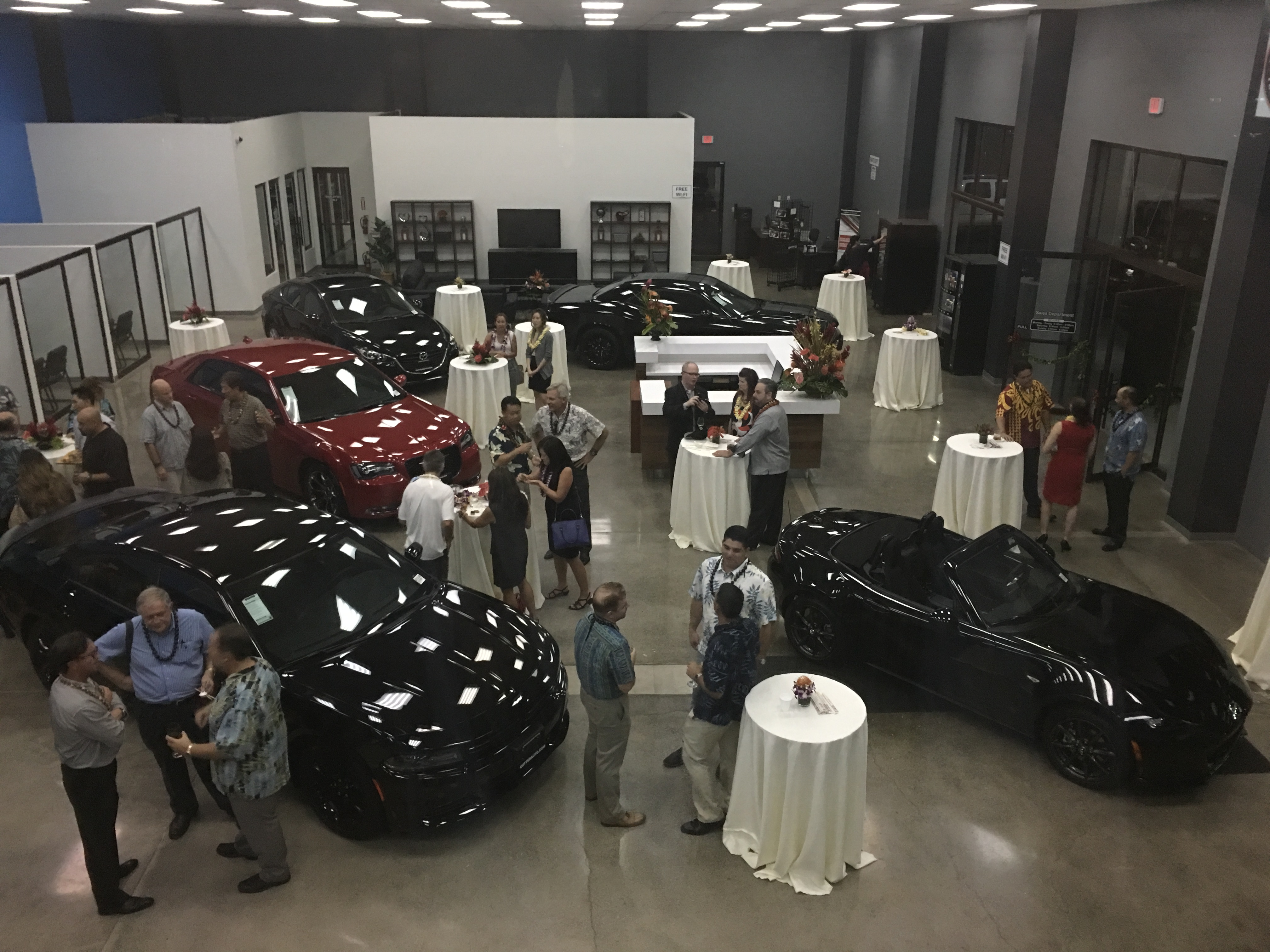 dodge and mazda honolulu grand opening party. Cars Review. Best American Auto & Cars Review