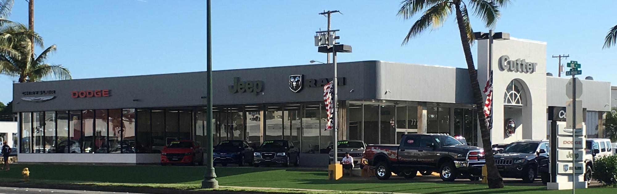 Cutter Chrysler Jeep Dodge Of Honolulu