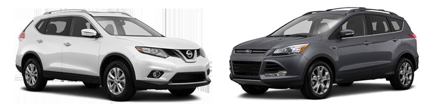 2015 Nissan Rogue Vs Ford Escape En Buford Ga Sutherlin Mall De Ga
