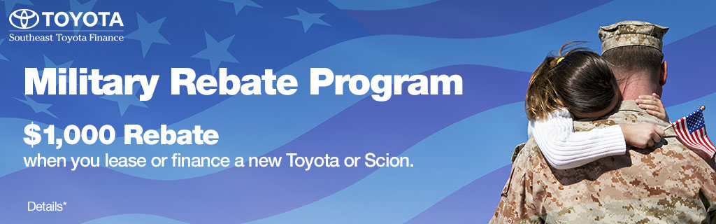 SET - OPTIONAL - Southeast Military Rebate