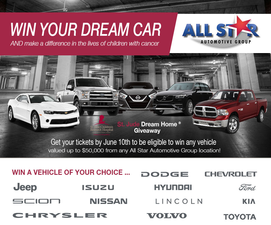 2016 St  Jude Dream Home Giveaway Baton Rouge LA | All Star Ford