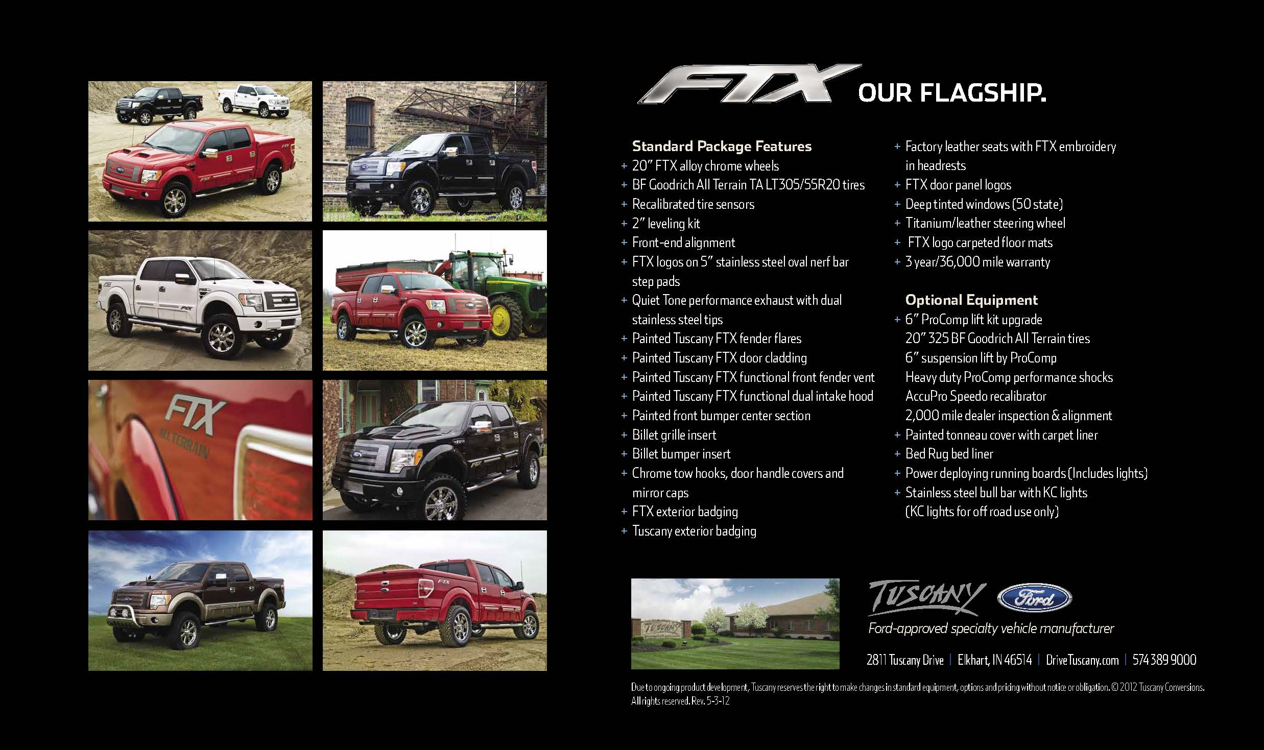 tuscany details introducing htm truck ftx orders custom the ford inventory