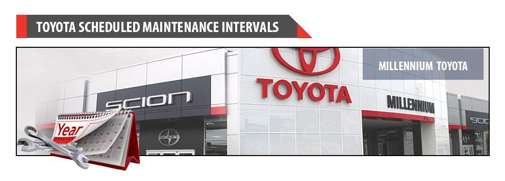 recommended maintenance schedule for new toyota vehicles rh millenniumtoyota com toyota corolla scheduled maintenance guide pdf 2008 toyota corolla scheduled maintenance guide