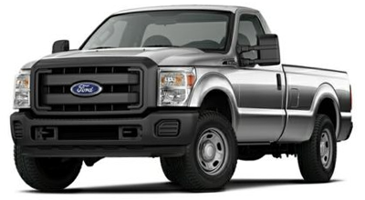 Stock Photo of 2016 Ford Super Duty F-350
