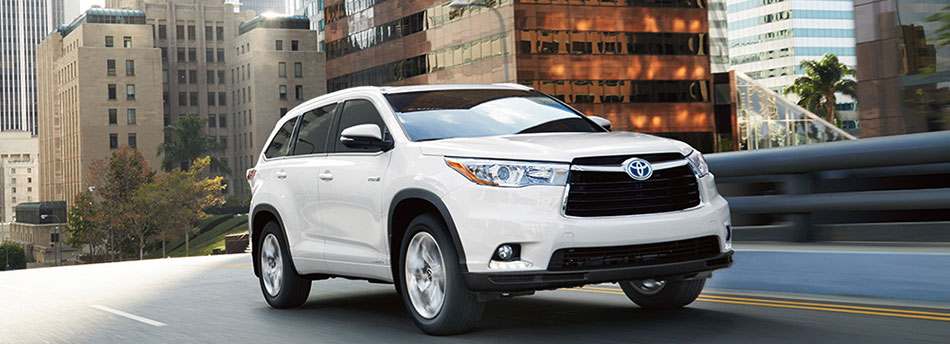 Toyota Highlander, there can only be one