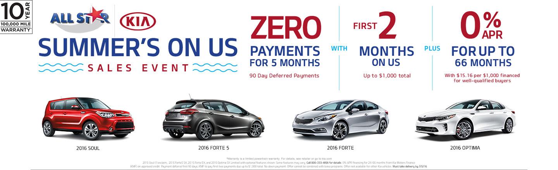 Memorial Day Electric Car Sales