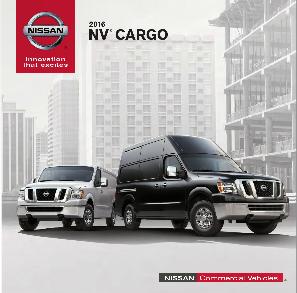 NV Cargo Van Brochure