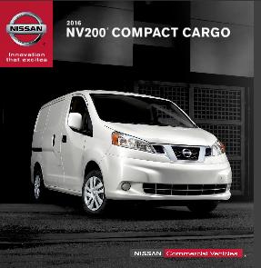 NV Compact Cargo Van Brochure