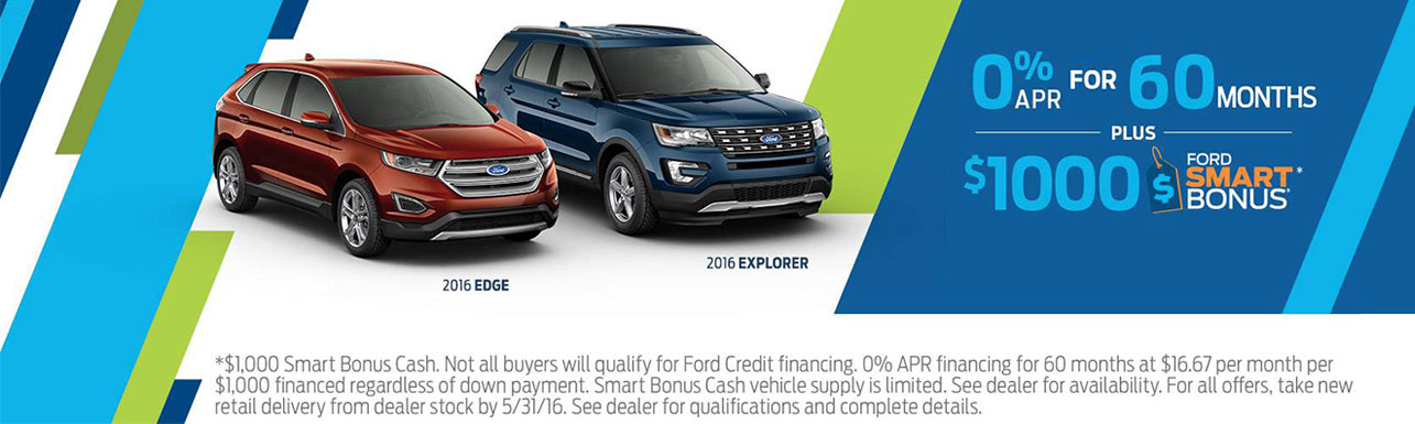 Ford Incentives 2