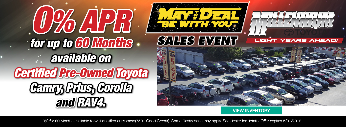 May the Deal Be With You Sales Event