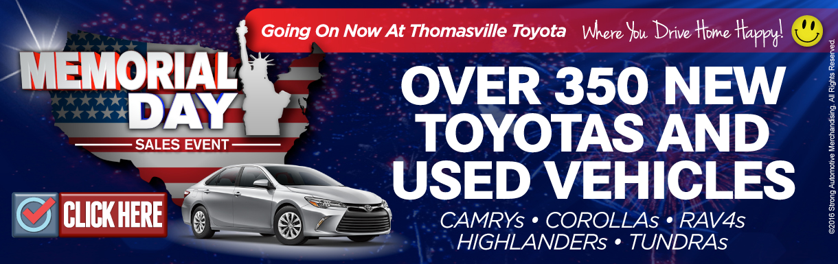THT - Memorial Day Sales Event