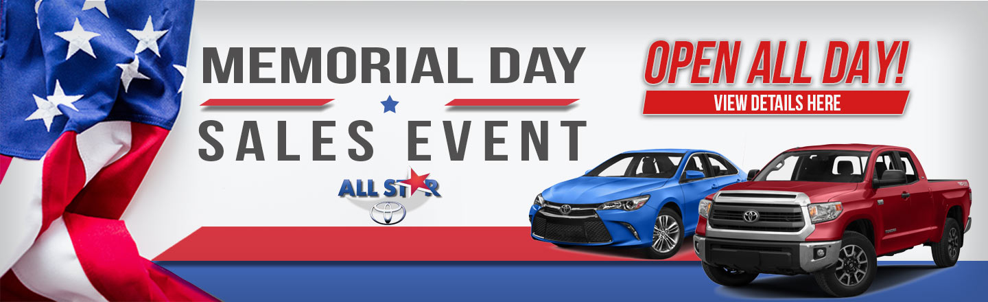 Toyota Memorial Day
