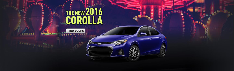 SET - OPTIONAL - The 2016 Corolla