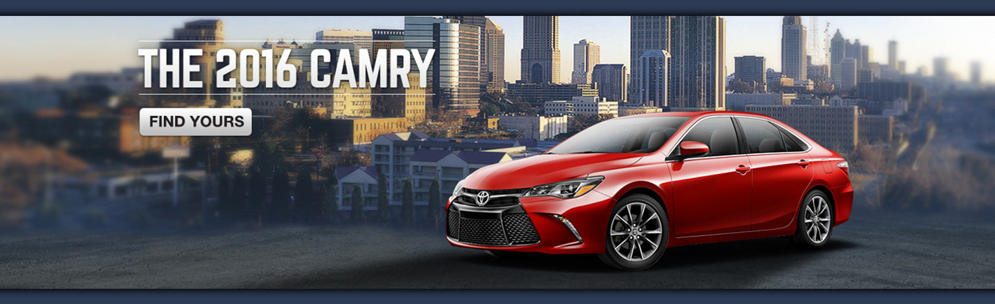 SET - OPTIONAL - The 2016 Camry