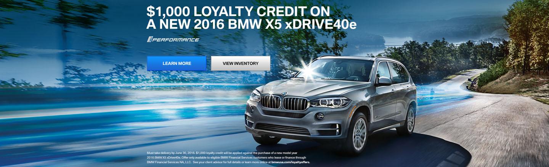 2016 BMW X5 xDRIVE