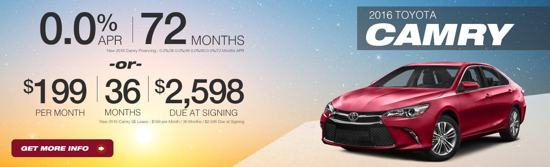 Toyota Camry OEM Offer