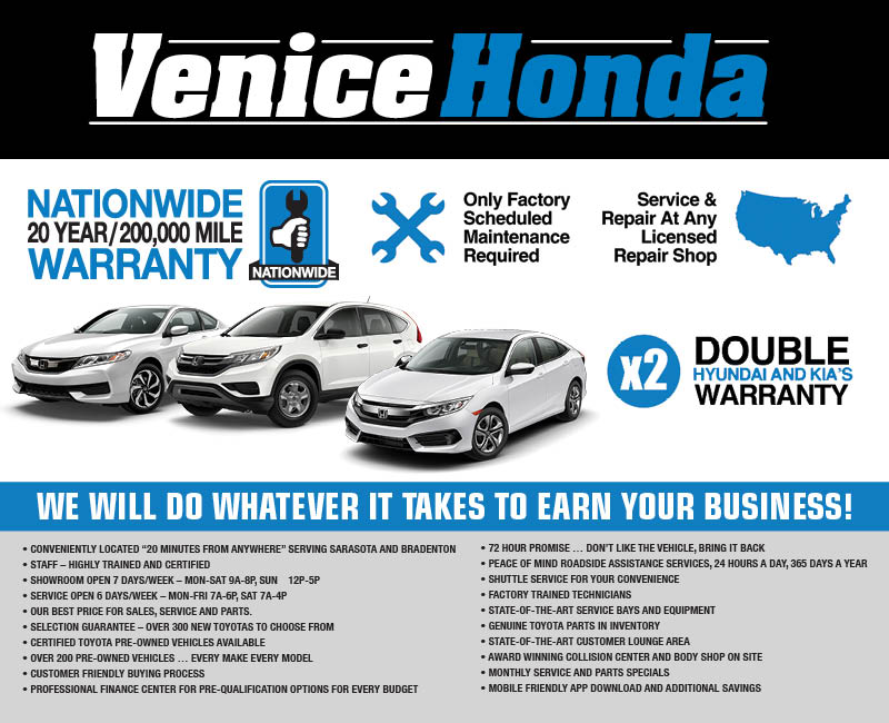 Delightful Venice Honda