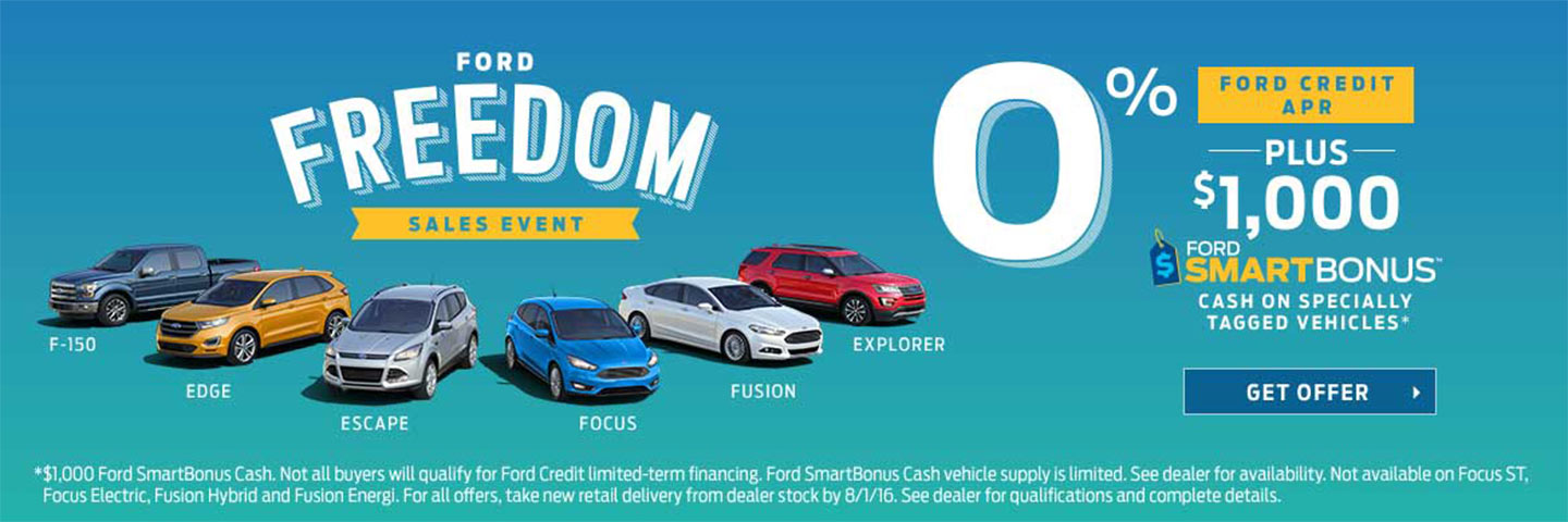 FORD FREEDOM EVENT