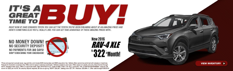 Buy 2016 RAV4 XLE