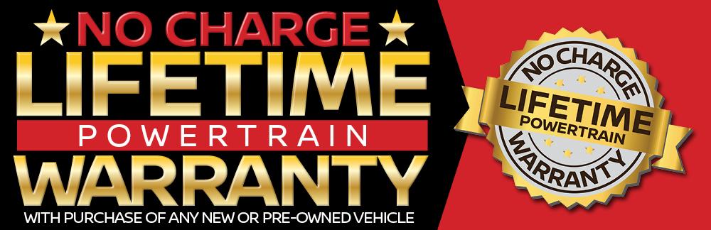 lifetime powertrain warranty graphic