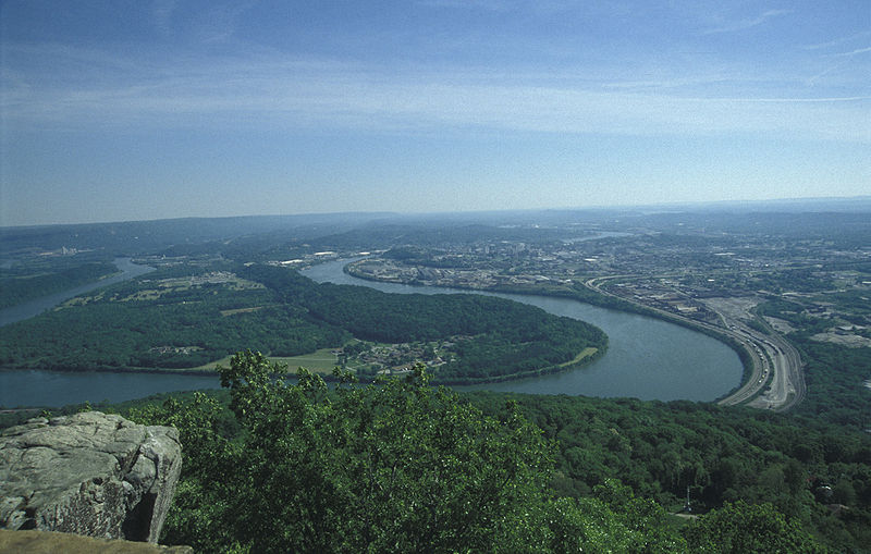Tennessee River in Chattanooga