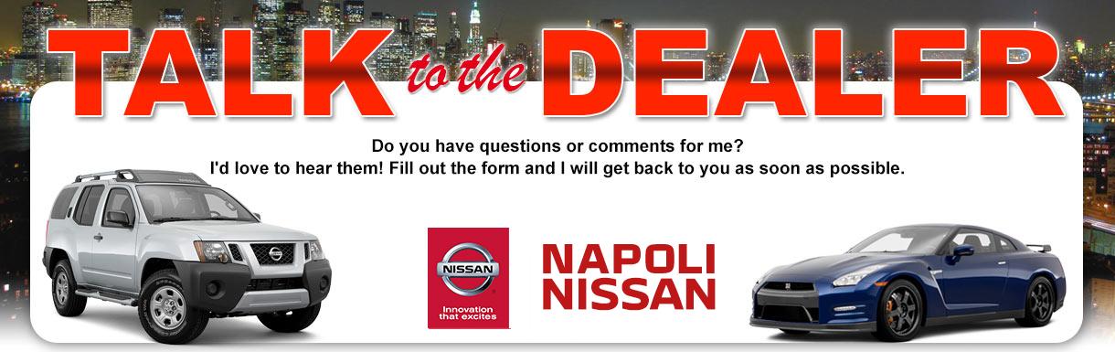 Talk To The Dealer | Nissan Dealer | Near Shelton, CT