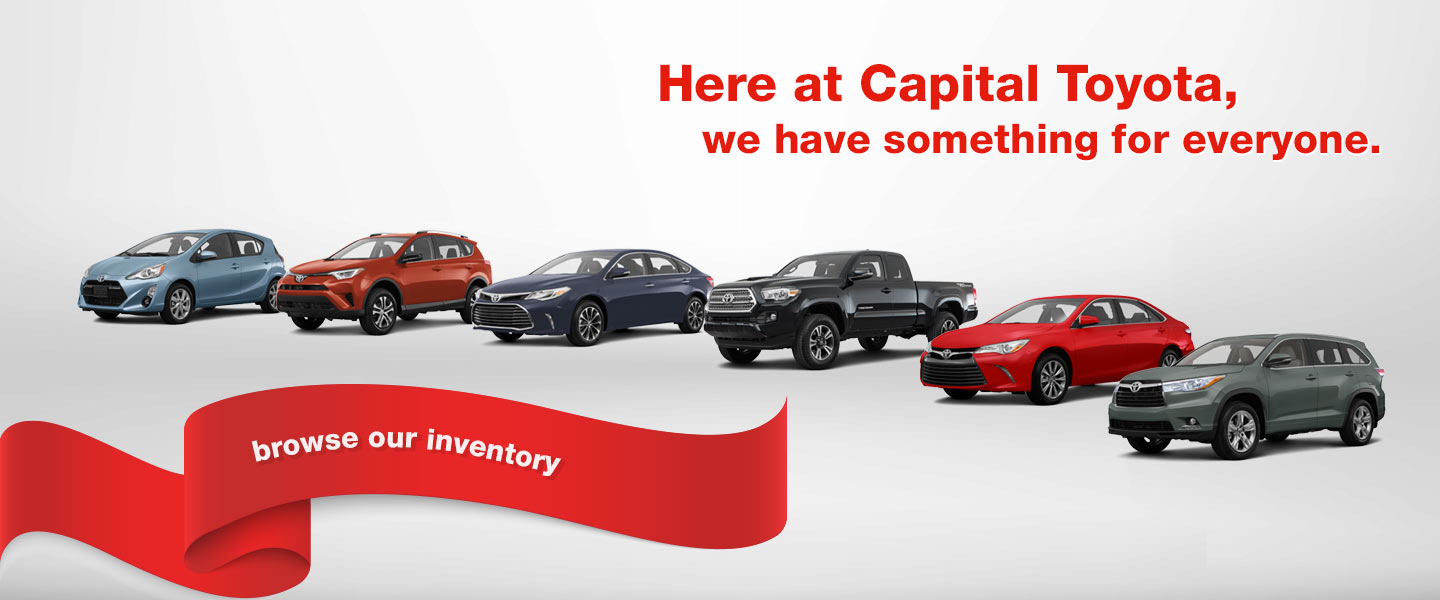 ... Sales Department Capital Toyota