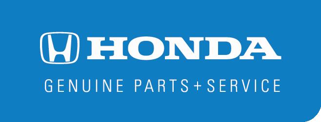 Genuine Honda Parts + Service Logo