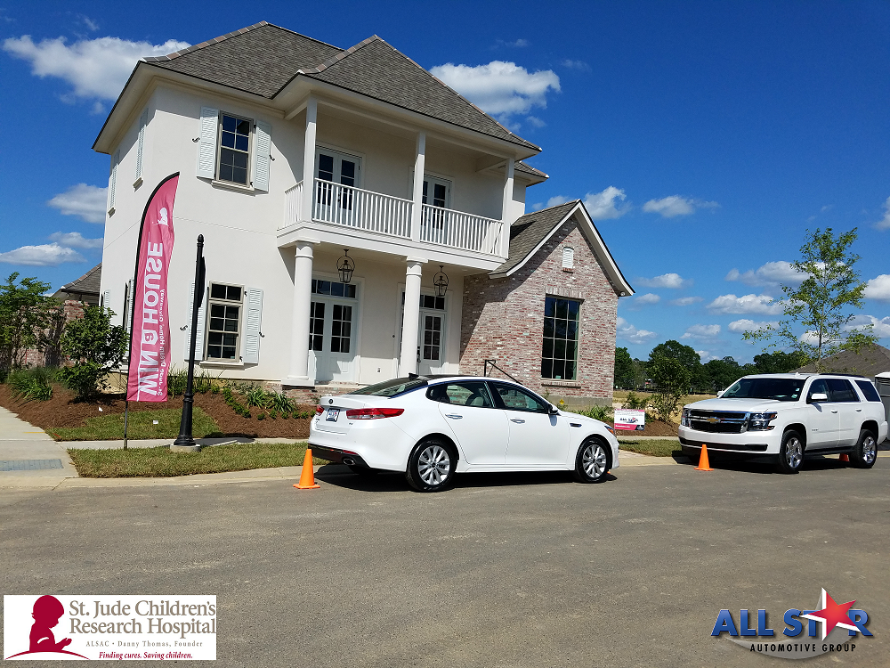 2016 St Jude Dream Home Giveaway Baton Rouge La All Star Ford