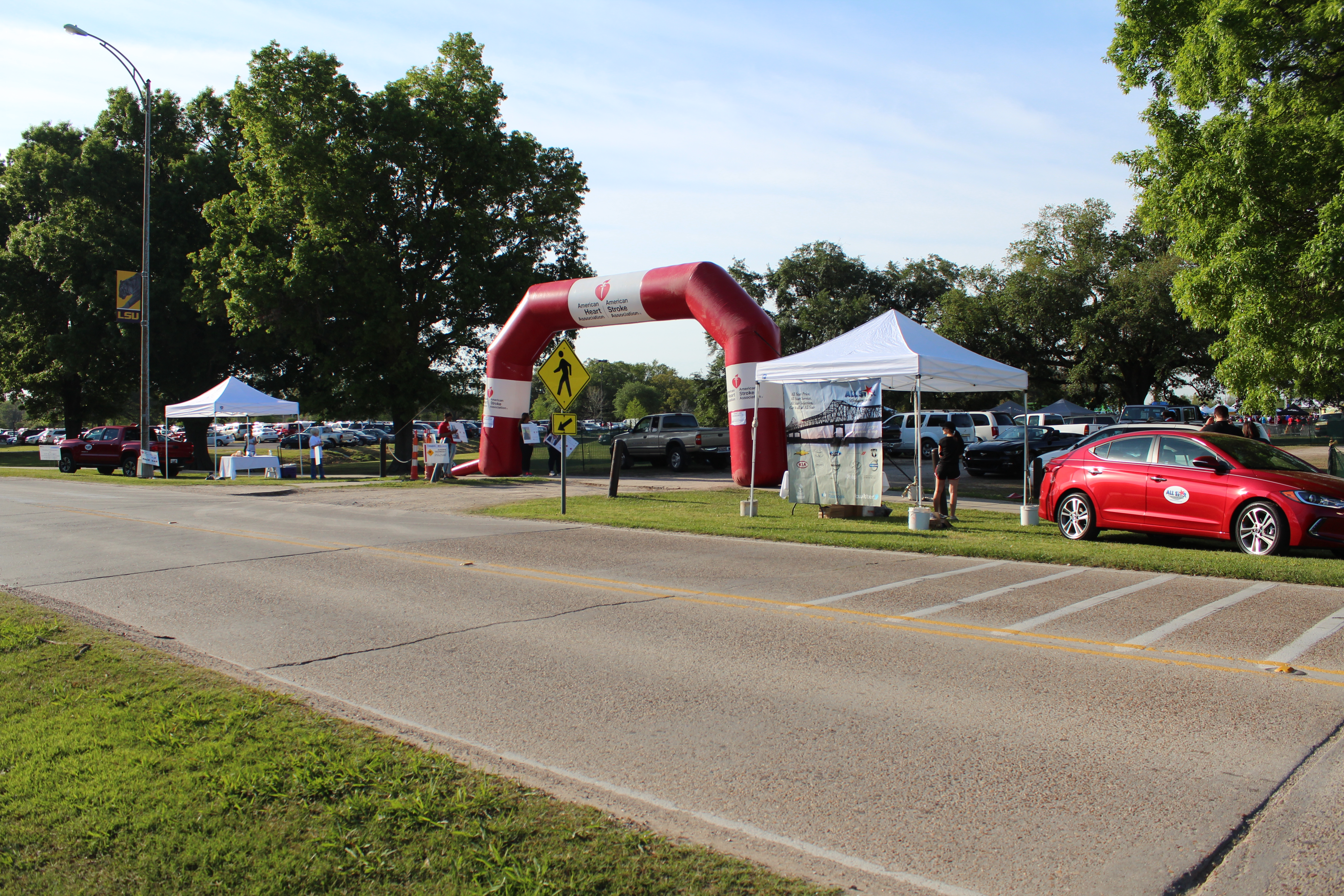 2016 AHA Heart Walk In Baton Rouge LA | All Star Ford Lincoln