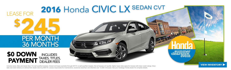 Honda service coupons ny wilderness gatlinburg deals for Honda dealer ny