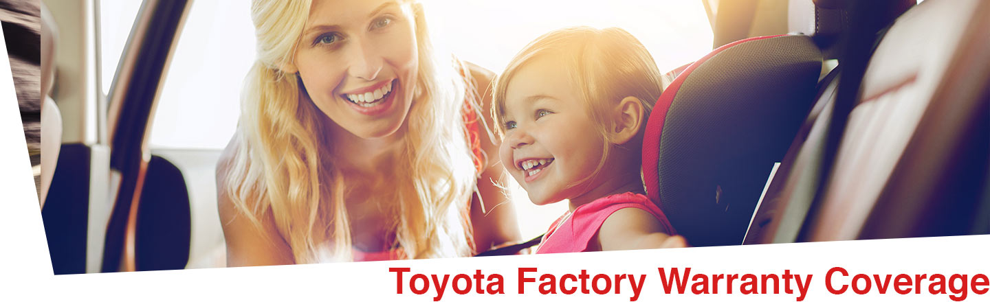 Toyota factory warranty that covers new vehicles, hybrids, accessories, and certified used