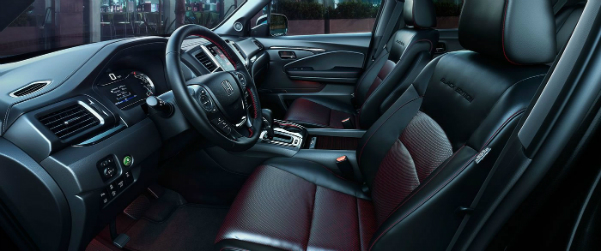 2017 Honda Ridgeline Black Edition Interior