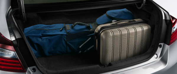 2017 Honda Accord Hybrid storage space