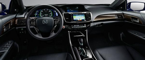 2017 Honda Accord Hybrid dashboard