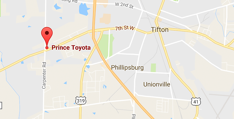 Toyota Dealership In Tifton Ga Serving Douglas Albany Ga