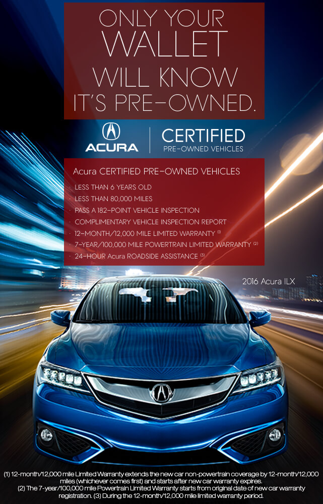 Acura Certified Pre Owned >> Acura Certified Pre Owned Vehicles Valley Ft Worth Acura