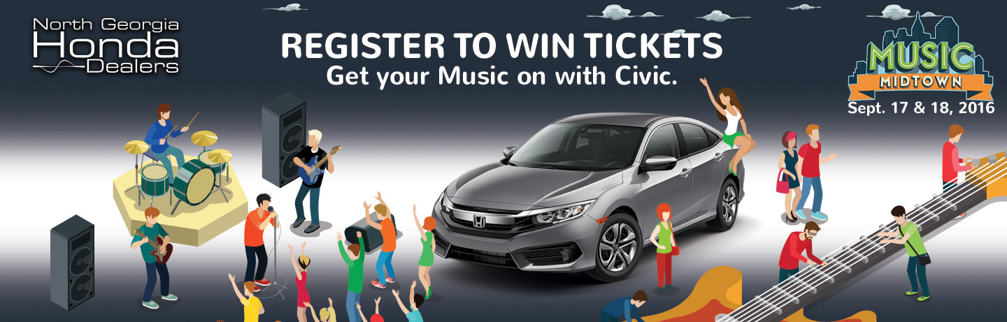 Music midtown 2016 north georgia honda dealers for Lou sobh honda service
