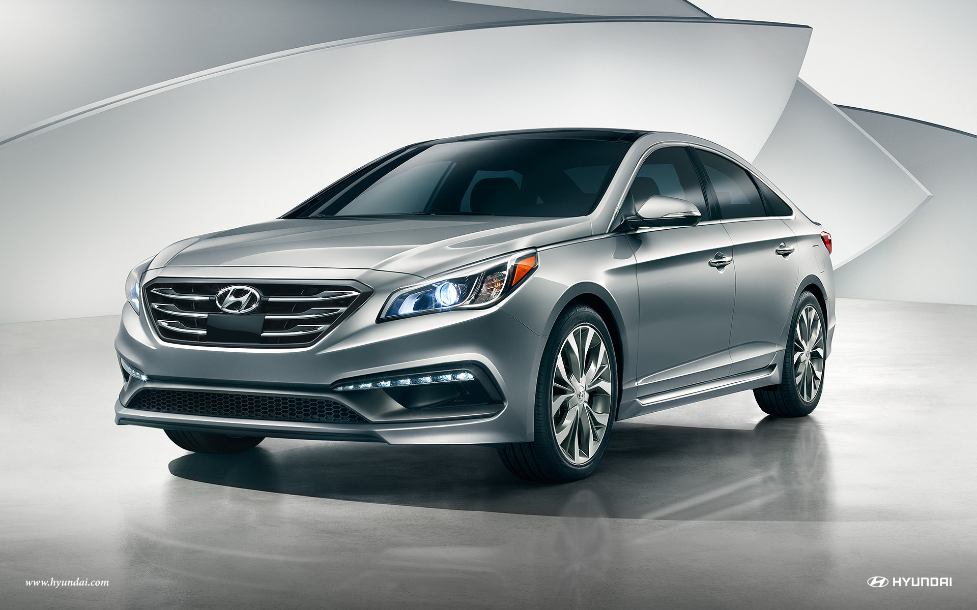 Exterior View Of 2017 Hyundai Sonata in Tracy